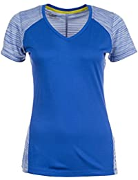 asics fuzeX - T-shirt course à pied - bleu 2017 tshirt sport