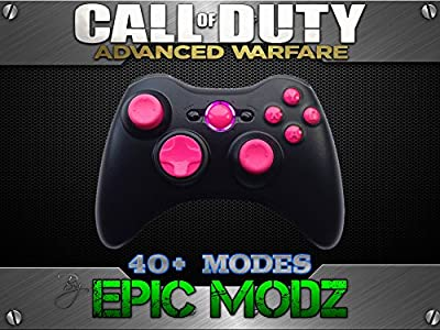 Epic Modz Xbox 360 Enhanced Custom Pink Controller