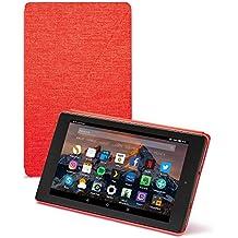 Amazon - Funda para Fire HD 8 (tablet de 8 pulgadas, 7ª generación, modelo de 2017), Rojo