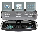 Intellilens® Premium Blue Cut Zero Power Navigator Spectacles with Anti-glare for Eye Protection