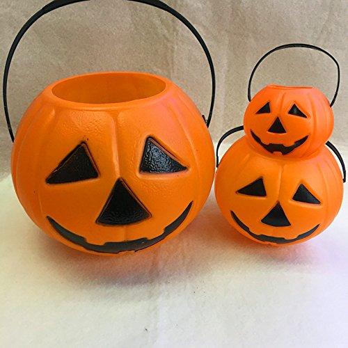 FEI&S Portable Kürbis für Halloween Dekorationen Requisiten Kürbis Eimer, große, mittlere und kleine - Soundtrack Myers Halloween Michael
