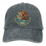 ewtretr Baseball Caps Hats Baseball Caps Mexico National Emblem Cowboy Style Trucker Cap Adjustable Unisex Suitable For All SeasonsSuitable for everyone, men and women, the elderly, and has a beautiful appearance.Baseball Hat Is Suitable For Lots Of ...