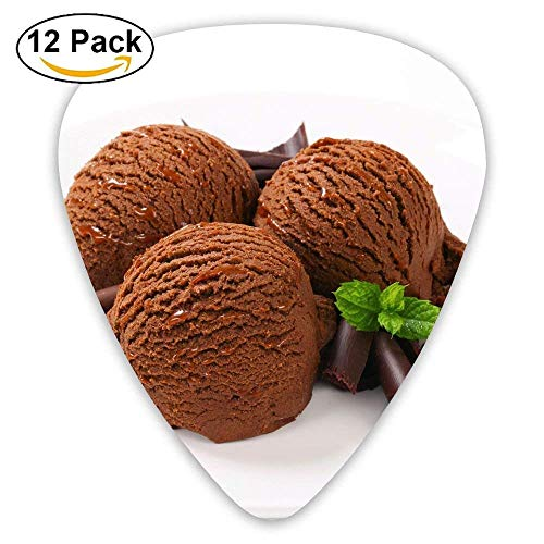 Mint Chocolate Ice Cream Guitar Pick 12pack -