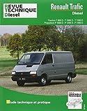 Revue technique diesel, N° 122 : Renault trafic diesel : Traction T800D, T1000D, T1200D, propulsion P1000D, P1200D, P1400D