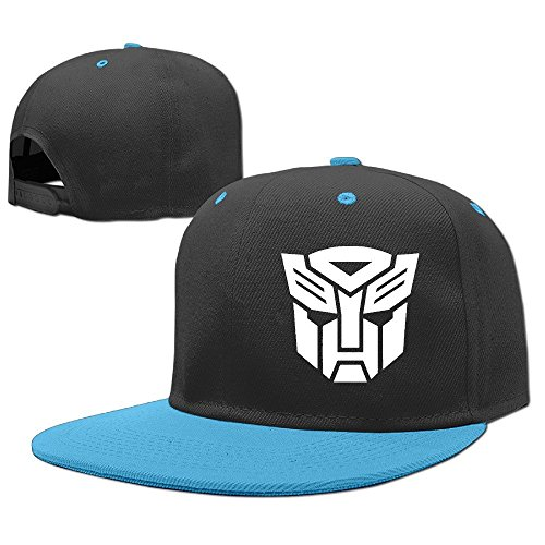 Huseki Transformers Optimus Prime Children New Hip-Hop Personalized Hats Caps Royalblue