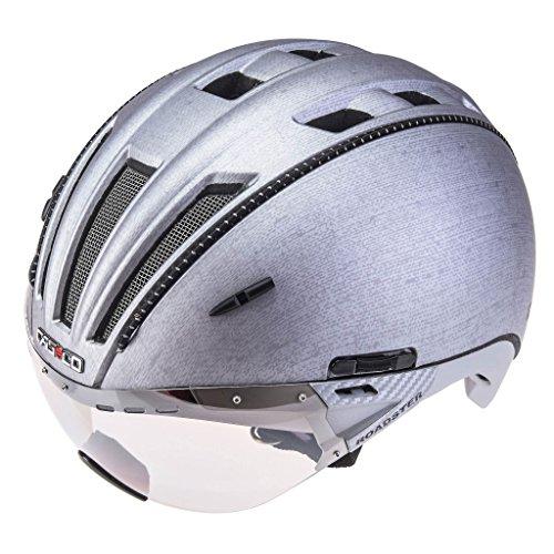 Casco Fahrradhelm 3614, Unisex Erwachsene L Silber