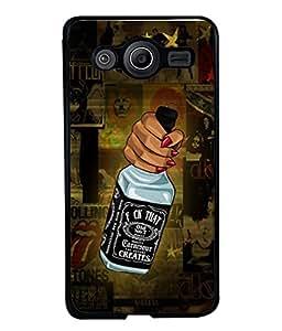 PrintVisa Designer Back Case Cover for Samsung Galaxy Core I8260 :: Samsung Galaxy Core Duos I8262 (Love Lovely Attitude Men Man Manly)