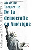 De la démocratie en Amérique de Alexis de Tocqueville (Grands caractères, 20 mai 2014) Broché - 20/05/2014