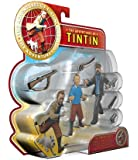 Plastoy - 60871 - Figurine - Set 2 Tintin et Haddock + Accessoires
