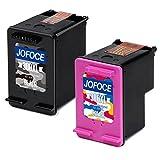 Jofoce Remanufactured HP 300 300XL Druckerpatronen 1 Schwarz + 1 Farbe Kompatibel mit HP DeskJet D1660 D2660 D5560 F2480 F4280 F4580, HP Envy 100 110 114 120, HP PhotoSmart C4680 C4780 C4670 C4600