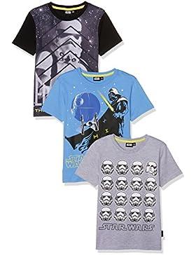 FABTASTICS Brownsville, Camiseta para Niños (Pack de 3)