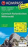Garmisch-Partenkirchen - Mittenwald: Wanderkarte mit Aktiv Guide, Radrouten, Skitouren und Loipen. GPS-genau. 1:35000 (KOMPASS-Wanderkarten, Band 790) -