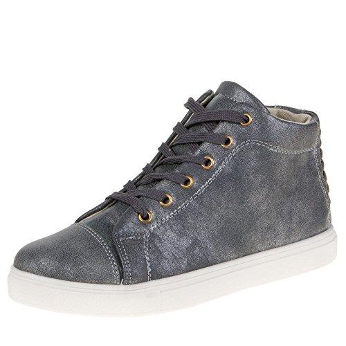 isotoner-27119-tempo-libero-scarpe-grigio-grau-37-eu