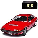 alles-meine GmbH Ferrari 365 GT4 2+2 Coupe Rot 1966-1973 Limitiert 1 von 1000 Stück 1/18 KK-Scale Modell Auto
