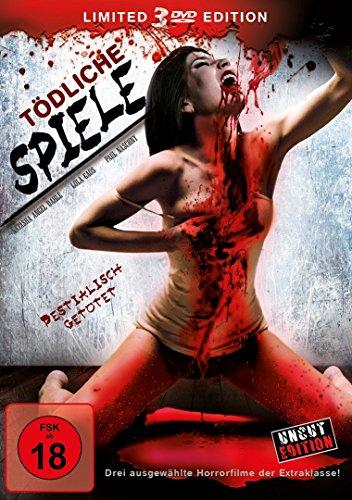 Tödliche Spiele (3 DVD BOX) [Limited Edition]