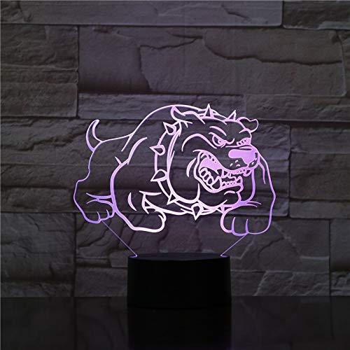 Hundespielzeug 3D Nachtlampe Mit Touch Led Licht Weihnachtsgeschenke Kinder Hobbys 3D Nachtlicht