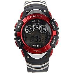 Pixnor ALIKE AK5106 50M Waterproof Sport Digital Wrist Watch
