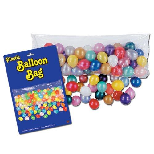 Beistle Kunststoff Balloon Bag Mit Luftballons, 0,9m von druckknopfstiel -
