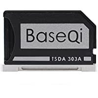 """Micro SD Apapter - Baseqi Aluminium Micro SD Adapter with silver edge for MacBook Pro Retina 13""""/ MBPR*"""
