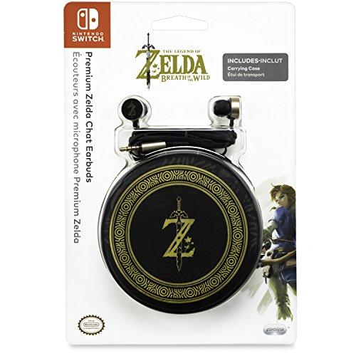 PDP Nintendo Switch Premium The Legend of Zelda: Breath of the Wild Chat-Ohrhörer, (Zubehör Legend Of Zelda)