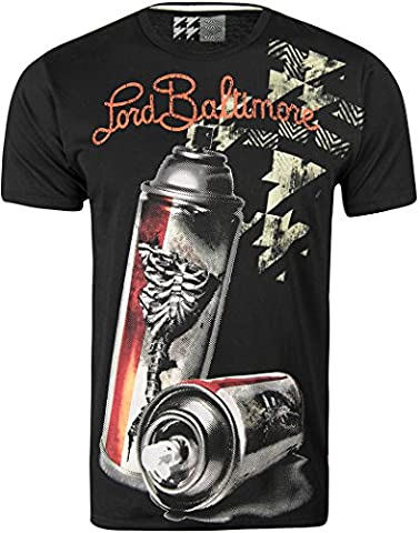 Lord Baltimore Graphic T-Shirt mode Par Christian Audigier. - - Large