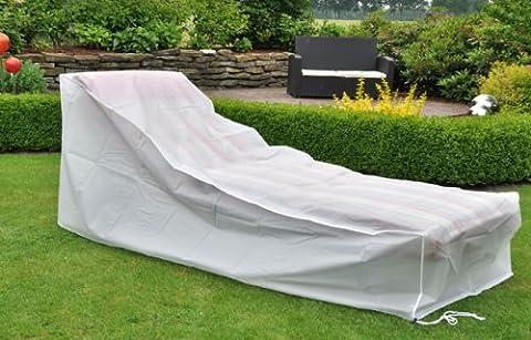 Housse de protection pour chaise longue résistante aux UV et à l'eau 200 x 75 x 40 x 70 cm