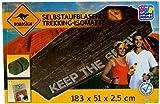 Happy People Roadsign Australia Selbstaufblasende Trekking Isomatte 183x51x2.5cm (GP3)
