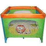 Reisebett Kinderbett Klappbett Farb- und Musterwahl inkl. Matratze, Tasche & Spielringe - 7