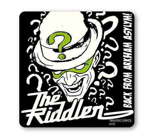 The Riddler Untersetzer – Bierdeckel – DC-Comics - schwarz - Lizenziertes Originaldesign - ()
