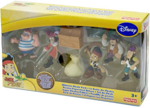 Toyland Jake and The Neverland Pirates Deluxe Adventure Figure Pack