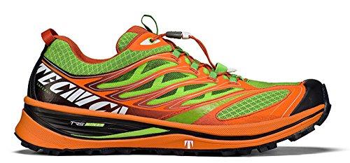 Tecnica - Inferno x lite 2 vibram - Chaussures running trail Lime Arancio