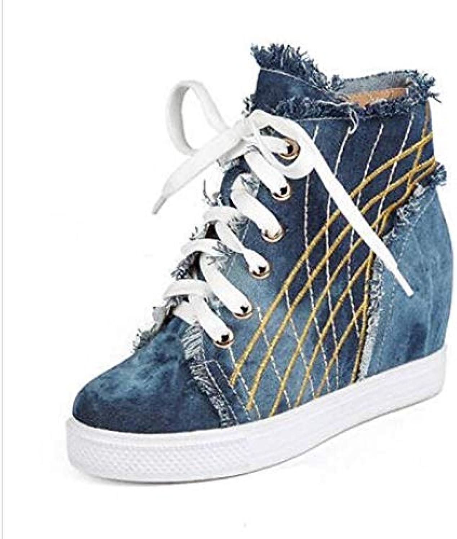 Zhznvx Printempseté Denim Chaussures Femme Confort PqrxSwgPF1