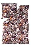 Estella Mako Interlock Jersey Bettwäsche Benita Beere 135x200 cm + 80x80 cm