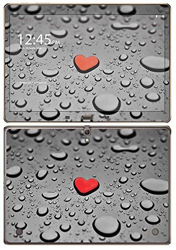 Preisvergleich Produktbild 'Royal Wandtattoo RS. 101807selbstklebend für Samsung Tab S 10,5WLAN, Motiv Heart AS A Drain Drop