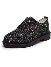 Zapatos de Mujer Zapatos de Tacón Alto Lentejuelas Colores , negro , EUR 35.5