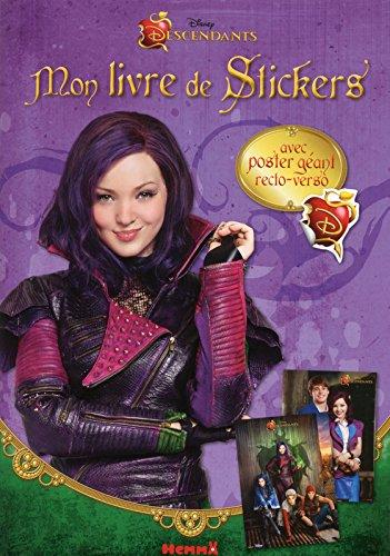 Disney Descendants - Mon livre de stickers + Poster