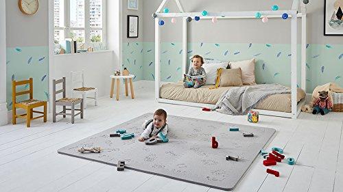 Tappeti Per Bambini Gomma : Lubabymats u tappeto a puzzle per bambini in gomma eva per un