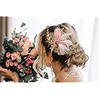 N36 Brautschleier wedding hairstyles Boho Frisur Vintage Braut 2018