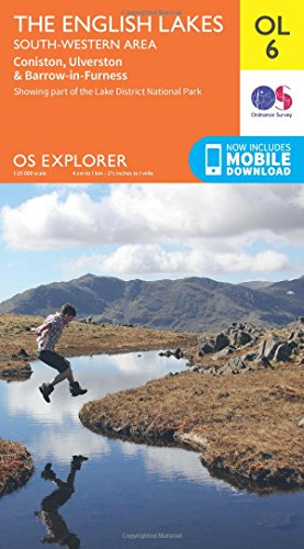 OS Explorer OL6 The English Lakes - South Western area (OS Explorer Map) Test