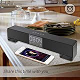 NAttnJf Smalody 10W LED Wireless Bluetooth-Soundbar-Home-TV-Subwoofer-Stereolautsprecher Valentinstag