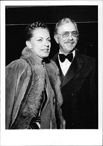 photo-de-jack-albertson-vintage-avec-sa-femme
