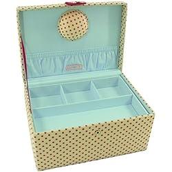 Button It 82356 crema grande de impresión punto coser caja de 31 cm x 23 cm x 14 cmœ