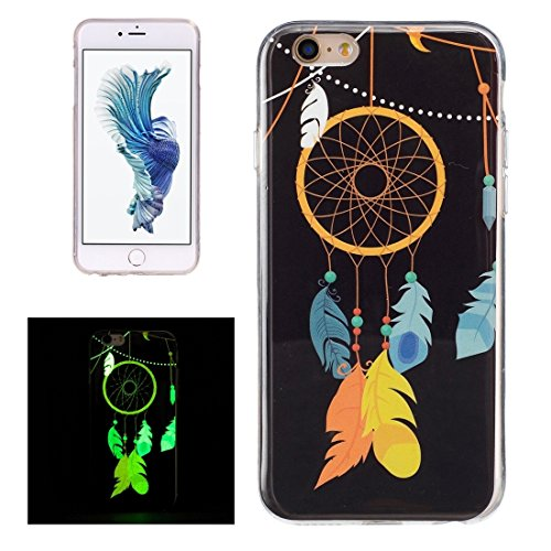GHC Cases & Covers, Für iPhone 6 & 6s Noctilucent Sika Deer Pattern IMD Kunstfertigkeit Soft TPU Back Cover Case ( SKU : Ip6g0130g ) Ip6g0130k