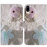 TienJueShi Sea Star Fashion Style Book Stand Flip PU