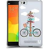 Head Case Designs Bicycle Summer Adventure Soft Gel Case for Xiaomi Mi 4c / Mi 4i