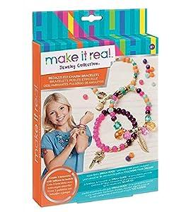 Make It Real - Deslumbrantes pulseras de amuletos (1201) , Modelos/colores Surtidos, 1 Unidad