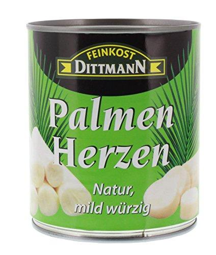 Preisvergleich Produktbild Feinkost Dittmann - Palmenherzen - 500g/750g