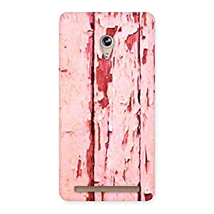 Delighted Ripped Wood Print Back Case Cover for Zenfone 6