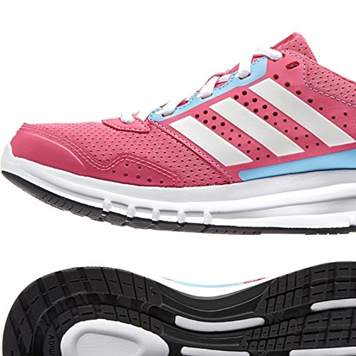 adidas Duramo 7, Running Mixte Enfant Rosa (Rose (Super Pink/White/Bright Cyan))