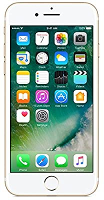 (CERTIFIED REFURBISHED) Apple iPhone 7 MN902HN/A (Gold, 32GB)